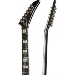 Guitarra Electrica Flying V Prophecy Yellow Tiger Foto: C:QuerryFotos Web\Guitarra Electrica EPIPHONE Flying V Prophecy Yellow T