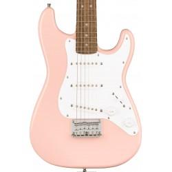 Guitarra Electrica SQUIER Mini Strat Shell Pink Foto: C:QuerryFotos Web\Guitarra Electrica SQUIER Mini Strat Shell Pink