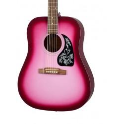 Guitarra Acustica EPIPHONE Starling Hot Pink Pearl Foto: C:QuerryFotos Web\Guitarra Acustica EPIPHONE Starling Hot Pink Pearl