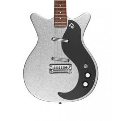 Guitarra DANELECTRO 59M NOS+ Silver Metalflake 60 Anniversary Foto: C:QuerryFotos Web\Guitarra DANELECTRO 59M NOS+ Silver Metalf
