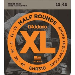 Cuerdas Electrica DADDARIO EHR310 Half Rounds (10-46) Foto: C:QuerryFotos Web\Cuerdas Electrica DADDARIO EHR310 Half Rounds 10-4