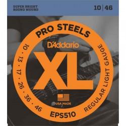 Cuerdas Electrica DADDARIO EPS520 ProSteel (9-42) Foto: C:QuerryFotos Web\Cuerdas Electrica DADDARIO EPS510 ProSteel 10-46