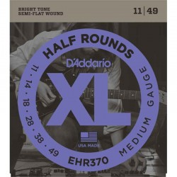 Cuerdas Electrica DADDARIO EHR370 Half Rounds (11-49) Foto: C:QuerryFotos Web\Cuerdas Electrica DADDARIO EHR370 Half Rounds 11-4