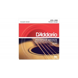 Cuerdas Acustica DADDARIO EJ-17 Phosphor Bronze (13-56) Foto: C:QuerryFotos Web\Cuerdas Acustica DADDARIO EJ-17 Phosphor Bronze