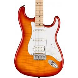 Guitarra Electrica SQUIER Affinity Strat Flame Maple Top Sienna Burst MN Foto: C:QuerryFotos Web\Guitarra Electrica SQUIER Affin