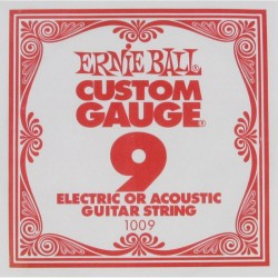 Cuerda Electrica ERNIE BALL Slinky Plana 09 Foto: C:QuerryFotos Web\Cuerda Electrica ERNIE BALL Slinky Plana 09