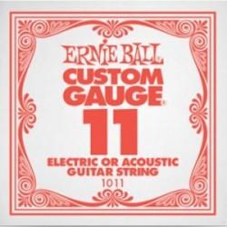Cuerda Electrica ERNIE BALL Slinky Plana 011 Foto: C:QuerryFotos Web\Cuerda Electrica ERNIE BALL Slinky Plana 011