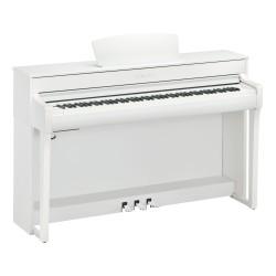 Piano Digital YAMAHA Clavinova CLP-735WH White Foto: C:QuerryFotos Web\Piano Digital YAMAHA Clavinova CLP-735WH White-1