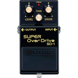 Pedal BOSS SD-1-4A Overdrive 40 Anniversary