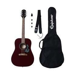 Pack Guitarra Acustica EPIPHONE Starling Player Pack Wine Red Foto: C:QuerryFotos Web\Pack Guitarra Acustica EPIPHONE Starling P
