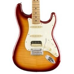 Guitarra Electrica Fender Player Stratocaster Plus Top Limited Sienna Sunburst HSS MN Foto: C:QuerryFotos Web\Electrica Fender P