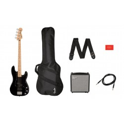 Pack Bajo SQUIER Affinity Precision Bass Black Foto: C:QuerryFotos Web\Pack Bajo SQUIER Affinity Precision Bass  Black