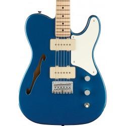 Guitarra Electrica Squier Paranormal Cabronita Telecaster Thinline Lake Placid Blue MN  Foto: C:QuerryFotos Web\Guitarra Electri