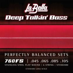 Cuerdas Bajo LA BELLA Flatwound Talkin Standard 45-105   Foto: C:QuerryFotos Web\Cuerdas Bajo LA BELLA Flatwound Talkin Standard