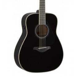 Guitarra Acustica Yamaha FG TA Black Transacoustic Foto: C:QuerryFotos Web\Guitarra Acustica Yamaha FG TA Black Transacoustic