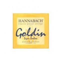 Cuerda Clasica HANNABACH GOLDIN 7255-MHT 5ª Super Carbon Media Fuerte Foto: C:QuerryFotos Web\Cuerda Clasica HANNABACH GOLDIN 72