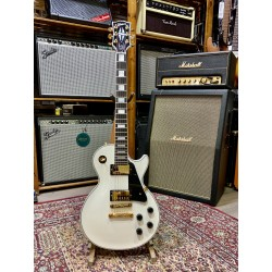 Guitarra Electrica GIBSON Les paul Custom Alpine White