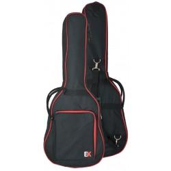 Funda Guitarra Clasica EK FGC10RD 10mm Negra/Roja Foto: C:QuerryFotos Web\Funda Guitarra Clasica EK FGC10RD 10mm Negra Roja-1