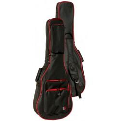Funda Guitarra Acustica EK FGA30RD 30mm Negra/Roja Foto: C:QuerryFotos Web\Funda Guitarra Acustica EK FGA30RD 30mm Negra-Roja-1