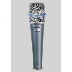 Micrófono SHURE Beta 57A Foto: C:QuerryFotos Web\Microfono SHURE Beta 57A