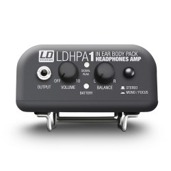 Amplificador Auriculares ADAM HALL HPA1  Foto: C:QuerryFotos Web\Amplificador Auriculares ADAM HALL HPA1-1