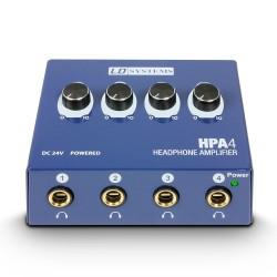 Amplificador Auriculares ADAM HALL HPA4 Foto: C:QuerryFotos Web\Amplificador Auriculares ADAM HALL HPA4-1
