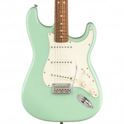 Guitarra Electrica Fender Limited Edition Player Stratocaster Electric Guitar in Surf Green with Matching Headstock Foto: C:Quer