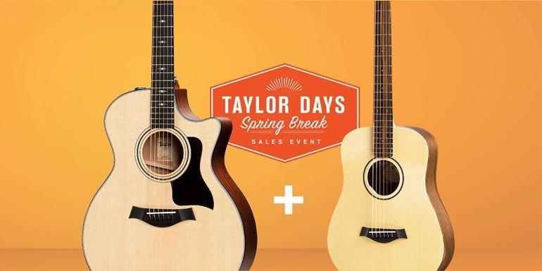 Taylor Days - Spring Break