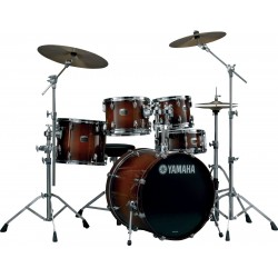 Bateria YAMAHA Tour Custom TC2F4 Brown Sunburst Foto: \192