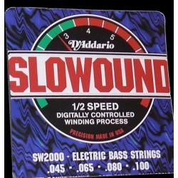 Cuerdas Bajo D´ADDARIO SW-2000 Nickel Slowound (45-100) Foto: \192