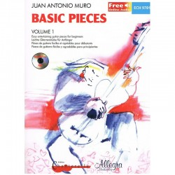 MURO - Basic Pieces Vol.1 + CD Guitarra - Ed. Chanterelle (1998) Foto: \192