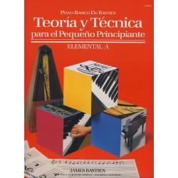 BASTIEN - Teoria y Tecnica para el Pequeño Principiante, Nivel Elemental A Piano - Ed. Kjos (2000) Foto: \192