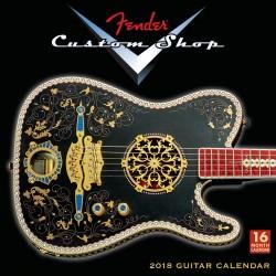 Calendario FENDER Custom Shop 2018 Foto: \192