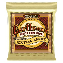 Cuerdas Acustica ERNIE BALL Earthwood Extra Light 2006 (10-50) Foto: \192