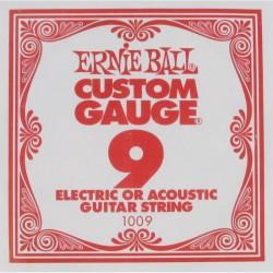 Cuerda Electrica ERNIE BALL Slinky Plana 09
