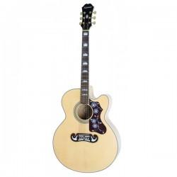 Guitarra Acustica EPIPHONE EJ-200SCE Natural Foto: \192