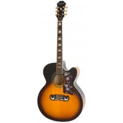 Guitarra Acustica EPIPHONE EJ-200SCE Vintage Sunburst Foto: \192
