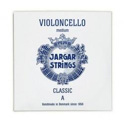 Cuerda Violonchelo JARGAR 1ª (LA) Cromo Medium Azul Foto: \192