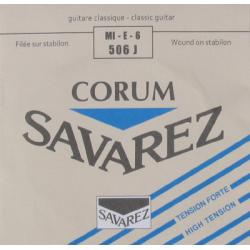 Cuerda Clasica SAVAREZ Corum New Cristal Azul 6ª 506-J Foto: \192