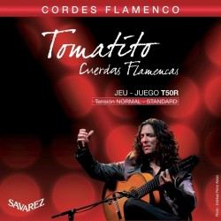 Cuerdas Flamenco SAVAREZ Tomatito T50-R Tension Normal Foto: \192