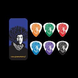 Puas DUNLOP Hamersveld Jimi Hendrix JVHPT-03M (Caja 6 Uds.) Foto: \192