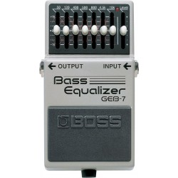Pedal BOSS GEB-7 - Bass Equalizer Foto: \192