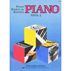 BASTIEN - Piano basico de Bastien, Nivel 2 Piano - Ed. Kjos (1991) Foto: \192