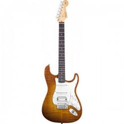Guitarra Electrica FENDER American Select Series Stratocaster HSS Antique Burst RW Foto: \192