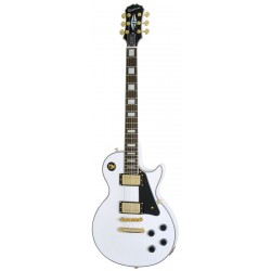 Guitarra Electrica EPIPHONE Les Paul Custom Pro Alpine White Foto: \192