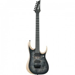 Guitarra Eléctrica IBANEZ RGDIX6PB-SKB Iron Label Surreal Black Busrt Foto: \192