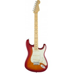 Guitarra Electrica FENDER American Elite Stratocaster Aged Cherry Burst MN Foto: \192