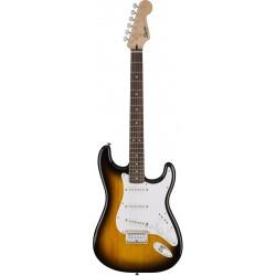 Guitarra Electrica SQUIER Bullet Stratocaster HT Brown Sunburst RW Foto: \192
