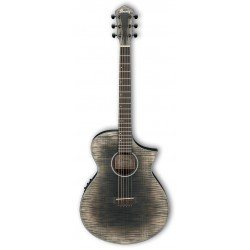 Guitarra Acustica IBANEZ AEWC32FM-GBK Glacier Black Low Gloss Foto: \192