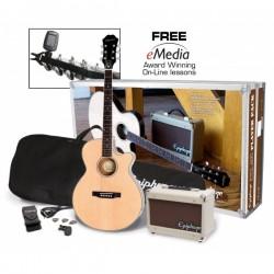 Pack Guitarra Acustica EPIPHONE PR-4E Foto: \192
